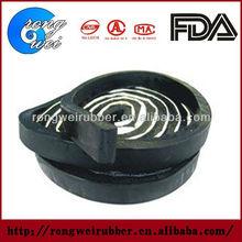 Adhesive rubber seal strip
