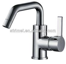 Bathroom Vanity Sink Brass Deck Mounted Faucet Basin Mixer Spool Vessel Sink Faucet Alloy Zinc Mortise Handles KL-2036