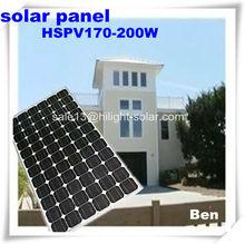 230W Monocrystalline Solar Panel manufacturer with TUV,CE,IEC,ISO