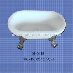small acrylic bathtub (baby bathtub)(pet bathtub) OT-3348