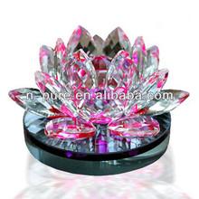 Shining Lotus Flower Crystal Gift / Crystal Craft