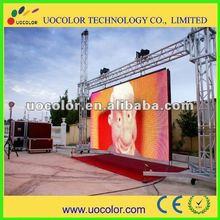 2012 hot sale outdoor p10 super slim die-casting aliuminum rental led display