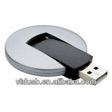 Ufo USB flash drive,Round twister key flash pen disks,Promotional swivel drive sticks memory thumb 4gb 8gb 16gb