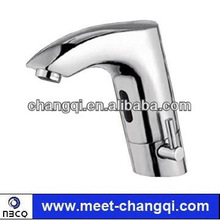 Automatic bathroom faucet for mixed water with brass material