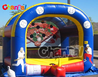 2013 exciting inflatable baseball cage 4mH
