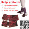 Elastic far infrared ankle support