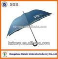 68- pulgadas de gran tamaño a prueba de viento paraguas de golf de luz paraguas de color azul