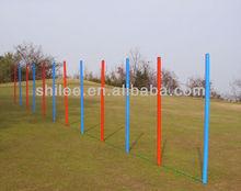 Dog agility kit dog weave/slalom poles
