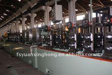 Ss saldatura del tubo linea di produzione/tubo che fa macchina