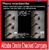 Flame Retardants chemical analysis of iron ore