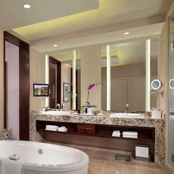 De lujo de cuerpo entero hotel cuarto de ba o espejo de - Banos de hoteles de lujo ...