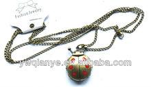 Alarm clock cheap pocket watch necklace