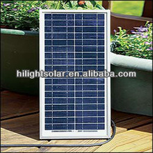 25w Solar Panel with CE TUV IEC ISO