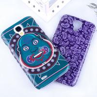 Custom prinnting imd technique animal design for samsung galaxy s4 case
