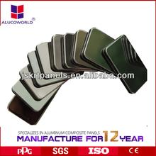 2013 latest building materials pvdf exterior aluminum composite