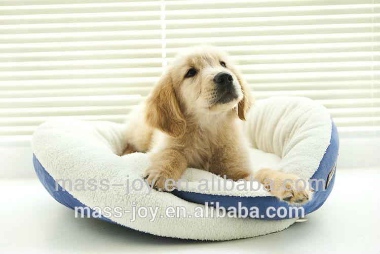 Soft cuddle dog bed manufacture