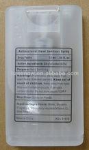 credit card waterless hand sanitizer spray OEM