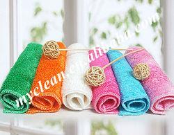 superfine absorbent bamboo fiber dish washing cloth