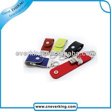 bulk 4gb usb flash drives with leather USB 2.0 driver