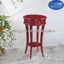 hot sale standing wood flower pot rack C-04#