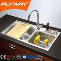 2014 hot sale upc pias esmaltado pequeno aço inoxidável pia da cozinha