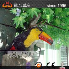 Public outdoor Imitate animatronic bird