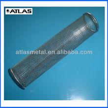 OEM pipe filter/ metal fabrication parts