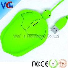 mini usb animal shape mouse, turtle shape optical mouse