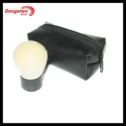 Natural hair Makeup kabuki brush,Wholesale branded,kabuki brush set,up makeup with kabuki bag