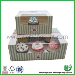 Custom cupcake boxes wholesale in China