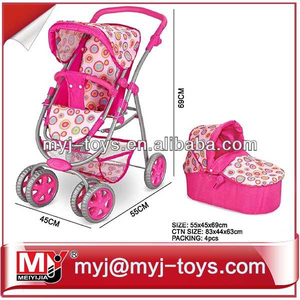 Hot popular selling of baby doll stroller MYJ-8192