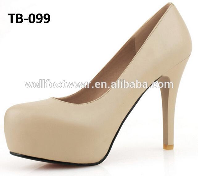 plus récent chaussures habillées 2014 wholeale belle dame chaussures nouveau design des femmes plateforme chaussures de dame chaussures de la chine