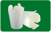 biodegradable noodle box/disposable lunch box/food packaging box