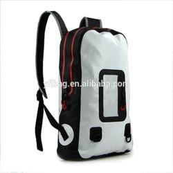 2015 pvc waterproof laptop backpack for 14 inch laptop