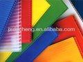 2 - 7 mm eco friendly reciclado durável de polipropileno pp plástico oco folha / placa