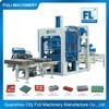 Most Profitable Business !! QT6-15 Fully automatic concrete brick production line