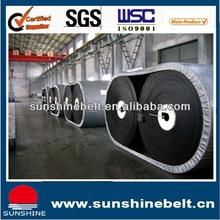 Anti-abrasion Crusher plant Good quality Rubber conveyor belt
