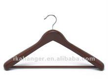 IKA L015 Walnut color with Bar Luxury Wood Coat Hanger