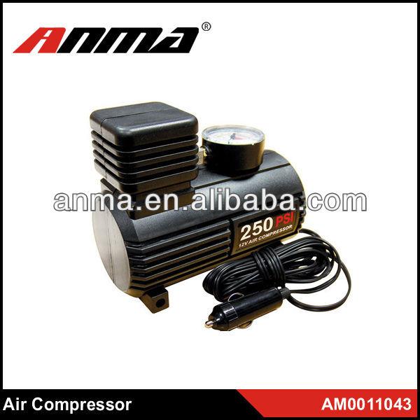 150-250 psi DC12V 24V heavy plastic car air compressor 12v air compressor car tyre inflator
