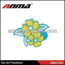 Nice anima cartoon shape car paper air freshener aroma scent sachet bag air freshener