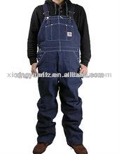 De sécurité ensemble hommes Jeans Denim pantalons de travail