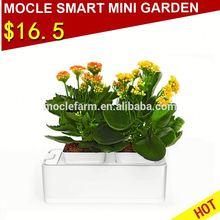 Garden slate flower pot