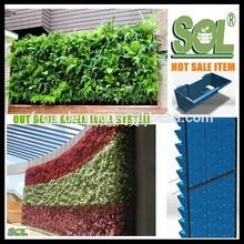 Vertical Green wall garden planter SL-XQ3319 Outdoor Self-watering Vertical Green Wall Planter, Living wall Planters pots