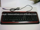 PS/2 computer wired keyboard