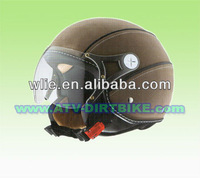 helmet DP501 Leather covered
