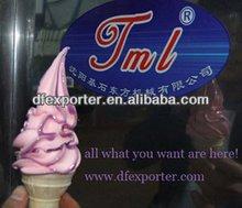 TML rainbow ice cream machine make rainbow lace ice cream