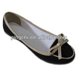 women's ballerina canvas shoes ladies pump shoes with studs