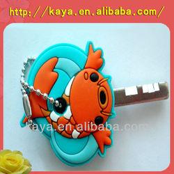 3D rubber custom key cover