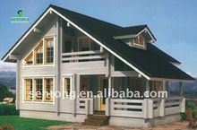 2013 New Extraordinary Wooden prefabricated House STK022