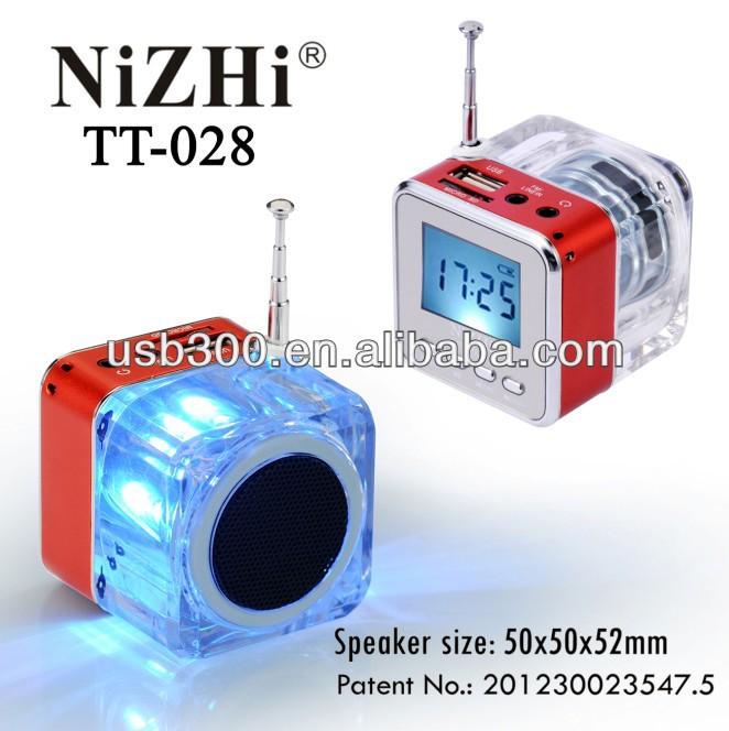 2014 profesional altavoz mini manual nizhi tt028